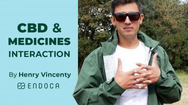 CBD And Medicines Interaction.