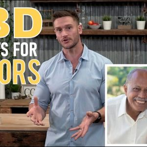 What are the Benefits of CBD for Seniors? Arthritis, Osteporosis, Alzheimer's - Thomas Delauer
