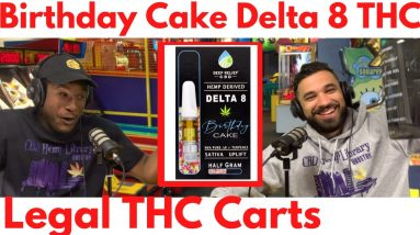 We Vape  Birthday Cake Delta 8 THC at Chuck E. Cheese from Deep Relief
