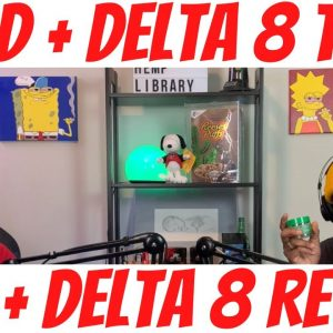 We Eat Relaxing Delta 8 Edibles & Vape a Delta 8 Cart & Eat Delicious CBD Chocolate 🍫