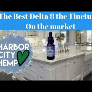 The Best Delta thc. Tincture yet ( Matrix ) from (Harbor City Hemp ) + CBD and CBG droppers