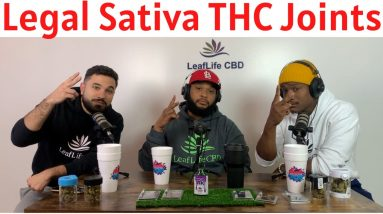 Sativa Delta 8 THC Astro Joints from Legally Lifted at Leaf Life CBD