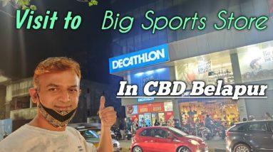 Visit  To Decathlon India -CBD Belapur Navi Mumbai Biggest Sports Store | Buy Health Fitness Eqipts