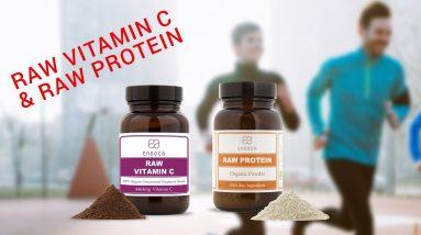 Raw Vitamin C & Raw Protein