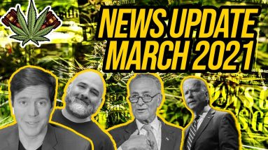 Federal Cannabis Legalization News - March 2021 - Cannabis News Roundup