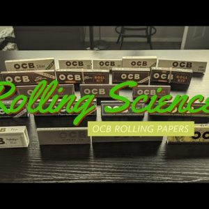 Rolling Paper Science! | OCB rolling paper comparison