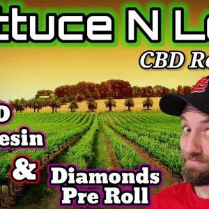 **Lettuce N Leaf** 💥CBD Live Resin & Diamonds PreRoll💥 CBD Strain Review