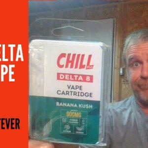 Banana Kush Delta 8 THC Vape Cart: The Whatever Guy Visits Chill