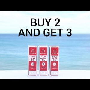 BUY 2 15% RAW CBD Oil And Get 3 (For Limited Time Only)
