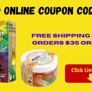 Cbd Online Coupon Codes - Just Cbd Discount code