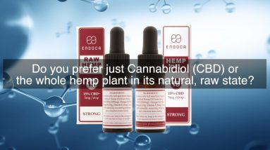 WHAT'S THE DIFFERENCE BETWEEN THE 15% RAW HEMP OIL DROPS AND 15% CBD HEMP OIL DROPS?