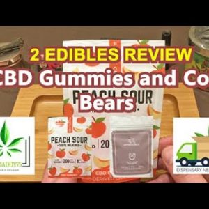 CBD Gummies and THC Cola Bears from Dispensary Near Me Now (DNMN) - Edibles Review