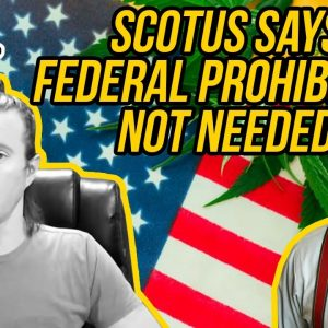 SCOTUS Justice Says Federal Marijuana Laws Useless | Justice Thomas Issues Opinion on Cannabis