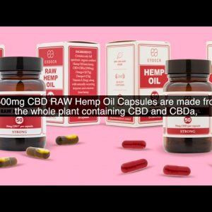 What's The Difference Between The 1500 Mg Raw Hemp Oil Capsules And 1500 Mg CBD Hemp Oil Capsules?