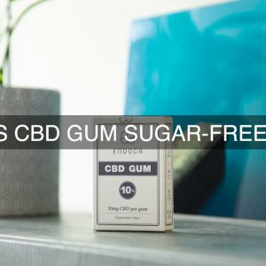 Is CBD Gum Sugar Free?