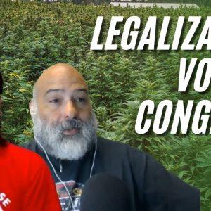 Federal Marijuana Legalization Vote In Congress | MORE Act 2021