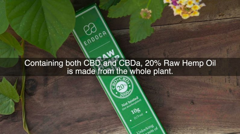 What's The Difference Between The 20Raw Hemp Oil And 20CBD Hemp Oil?