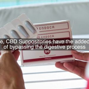 What Are CBD Suppositories?